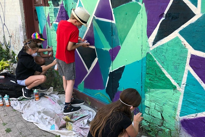 Art Under the Big Top Kids Camp- Graff Your Stuff Afternoon image