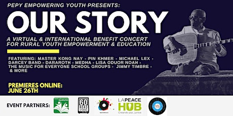 PEPY's Our Story International Benefit Concert tickets