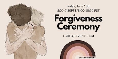 Forgiveness Ceremony tickets