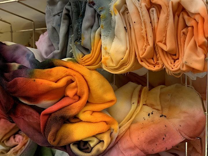 Art Under the Big Top Kids Camp- Tie Dye Morning image