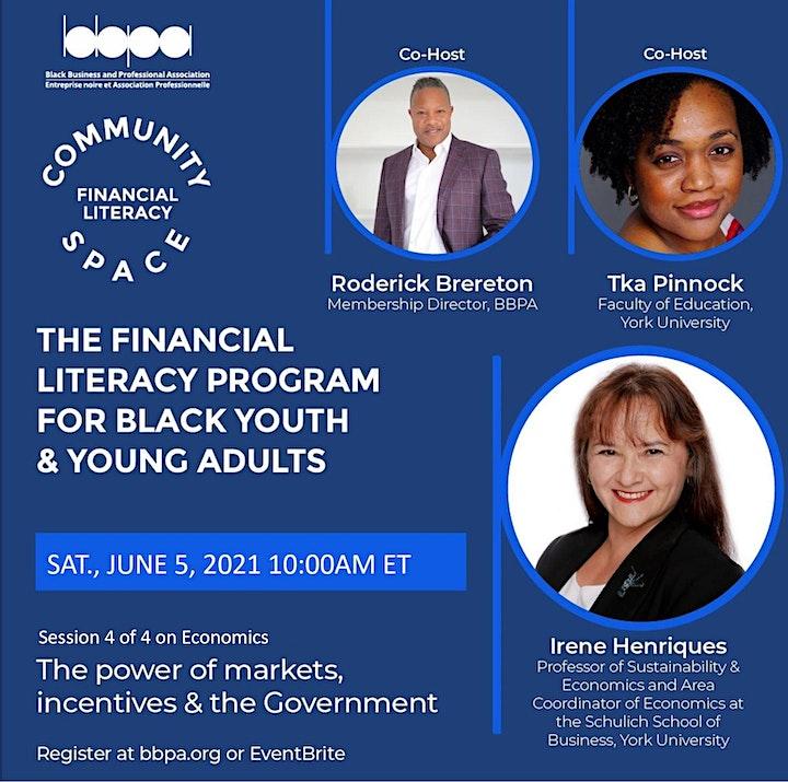 BBPA's Community Space Financial Literacy Program image