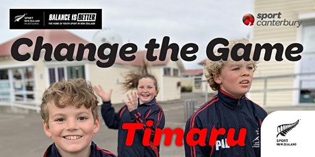 Balance is Better: Change the Game  (South-Canterbury) tickets