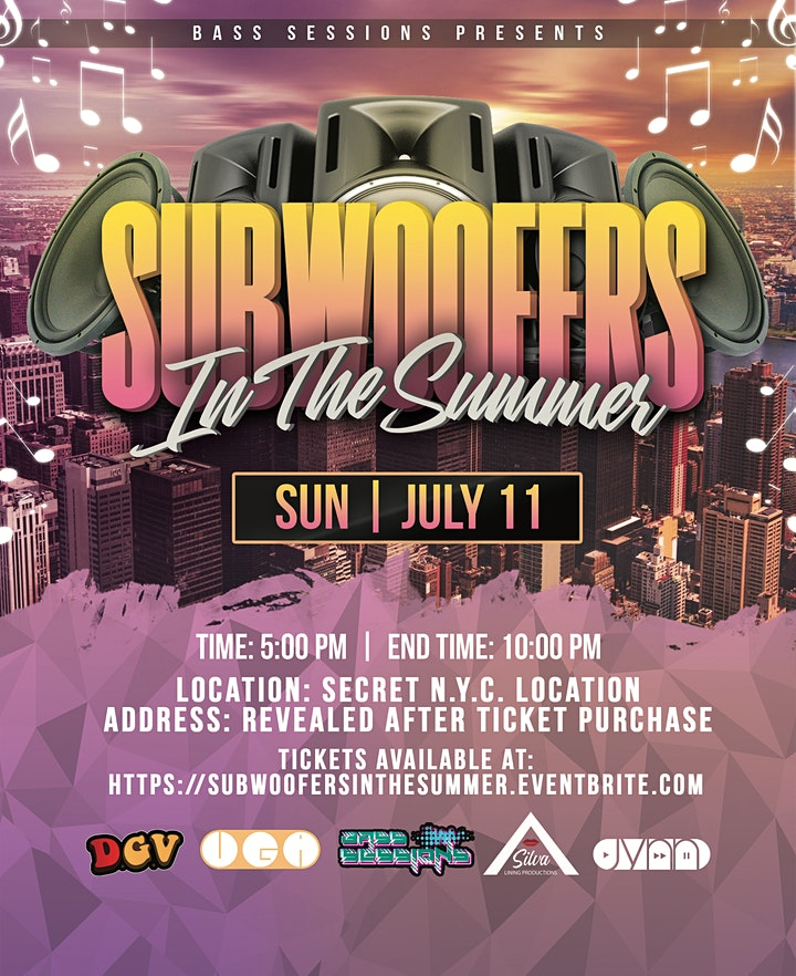 BASS SESSIONS Presents: Subwoofers In The Summer (Day Party) image