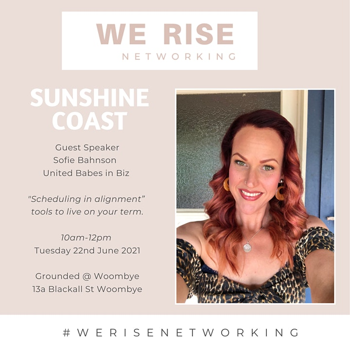 Women in Business 'Connection Event Sunshine Coast June image