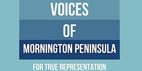 Voices of Mornington Peninsula Community Forum Tickets