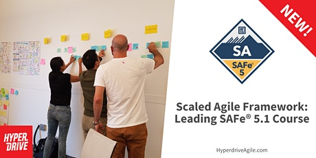 Scaled Agile Framework: Leading SAFe® 5.1 Live-Online Course (Central Time) entradas