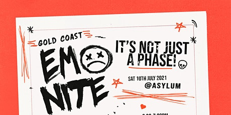 EMO NITE GOLD COAST - NOW ON SALE tickets