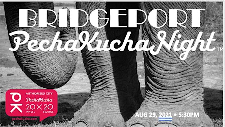 "Bridgeport PechaKucha - Vol. 11 ""LARGER THAN LIFE"" (VIRTUAL) image"