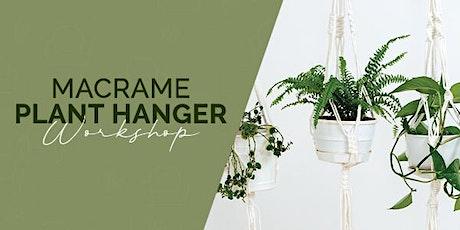 Macramé Plant Hanger Workshop July tickets