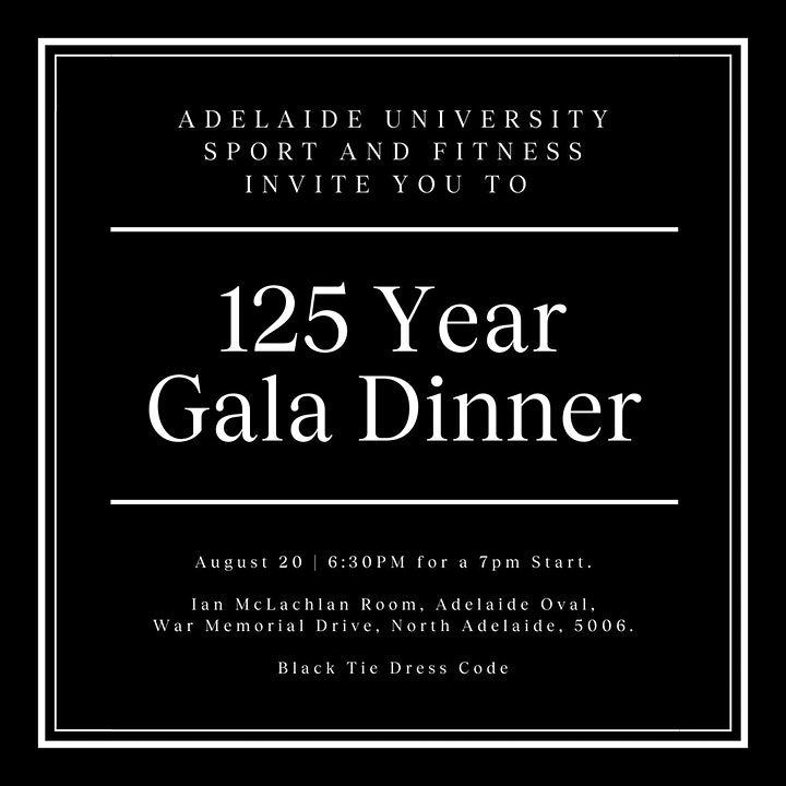 AUSF 125 Year Gala Dinner image