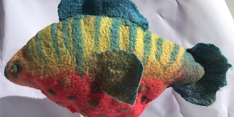 Wine and Wool - Felted Fish Decoration tickets