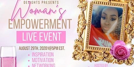 Women empowerment tickets