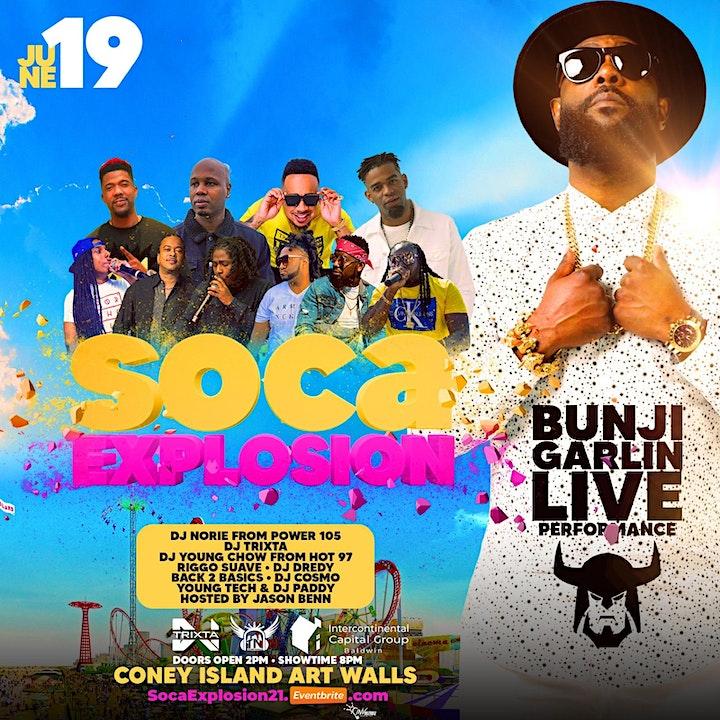 Soca Explosion ft Bunji Garlin image