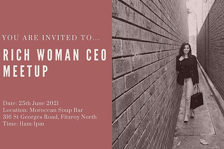 Rich Woman CEO Meetup image