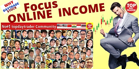Your FOCUS NOW  - Create   ONLINE INCOME .Why many people are TRADING STOCK tickets
