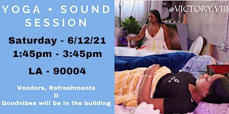 Yoga + Sound Session tickets