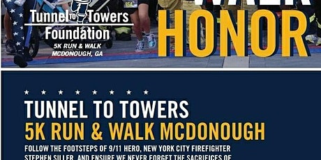 9.11 Tunnel2towers  5K Mcdonough tickets
