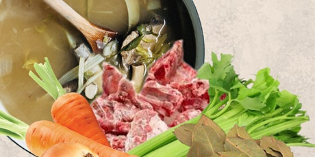 Pork Bone Broth Cooking - Gut Healing Cooking Series by Shima tickets
