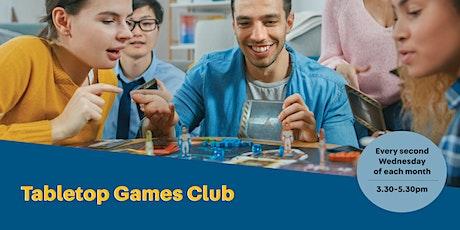 POSTPONED - Tabletop Games Club tickets