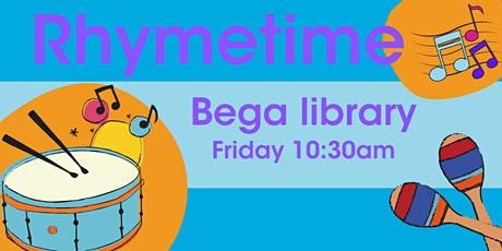 Rhymetime at Bega Library tickets