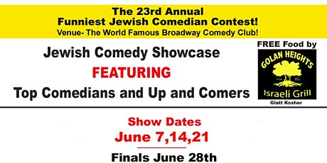 23rd Annual Funniest Jewish Comedian Contest! tickets