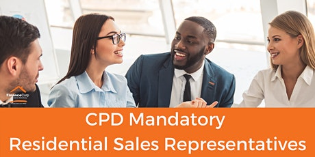 Real Estate - CPD Mandatory Residential Sales Representatives tickets