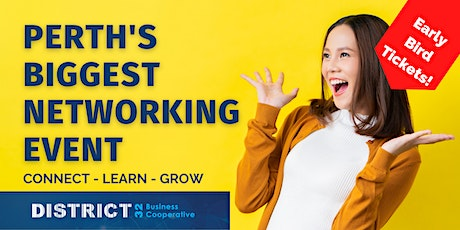 Perth's Biggest Networking Event – Everyone Welcome - Thu 08 July tickets