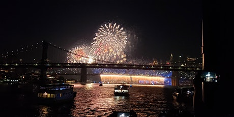 July 4th New York City Fireworks Cruise with Buffet and Live DJ tickets