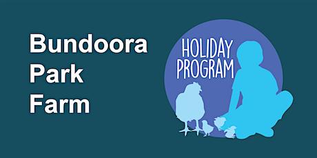 Bundoora Park Farm Holiday Program Winter 2021 tickets