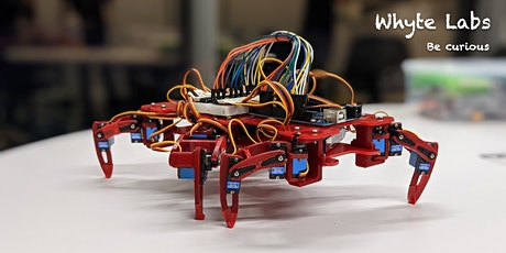 Intro to Walking Robots Bootcamp (100% online with custom hardware kit) tickets