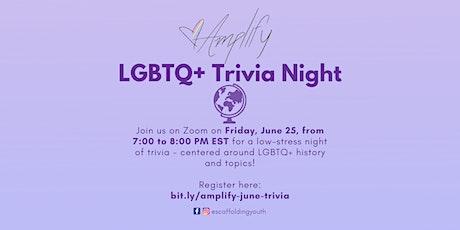 AMPLIFY LGBTQ+ Trivia Night tickets