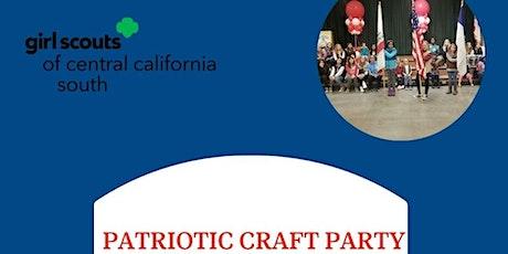 Patriotic Craft Party tickets