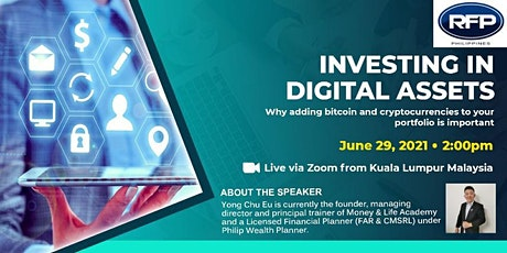 Investing in Digital Assets tickets