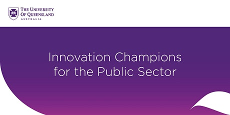 Innovation Champions for the Public Sector tickets