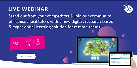 Digital, experiential & research-based learning solution for remote teams! tickets