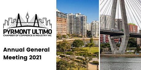 PYRMONT-ULTIMO CHAMBER OF COMMERCE & INDUSTRY AGM 2021 tickets