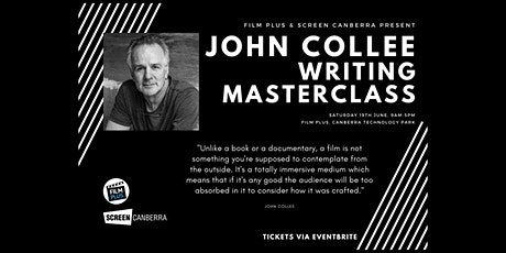 Writing Masterclass with John Collee tickets