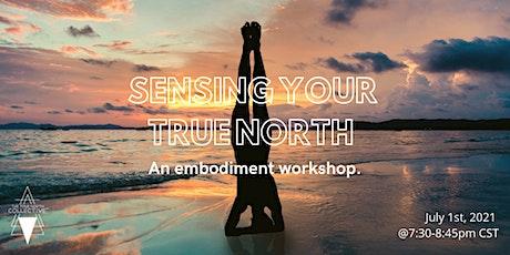 SENSING YOUR TRUE NORTH: an embodiment workshop tickets