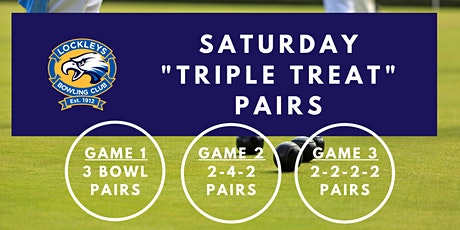 Saturday Triple Treat Pairs - Week 1 tickets