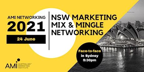 NSW Marketing Mix & Mingle Networking tickets