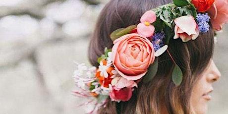 Private Flower Crown Workshop tickets
