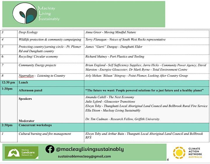 Sustainability Forum - The Future We Want image