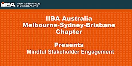 IIBA® Australia: Mindful Stakeholder Engagement billets