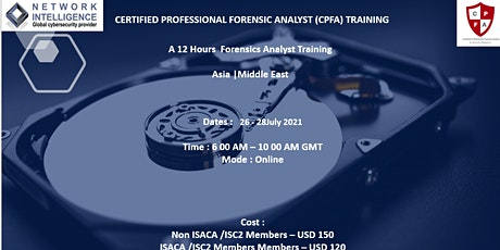 Certified Professional Forensics Analyst (CPFA) tickets