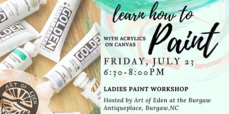Ladies Paint Workshop tickets