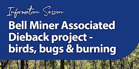 Bell Minor Associated Dieback Workshop- Birds, Bugs and Burning tickets