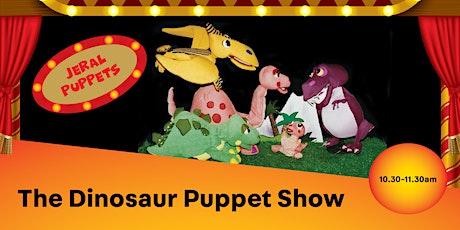 The Dinosaur  Puppet Show - Bonnyrigg Library tickets