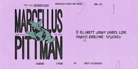Crown Ruler & Strictly Vinyl present Marcellus Pittman (Detroit)