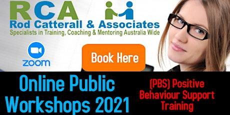 Positive Behaviour Support Training tickets