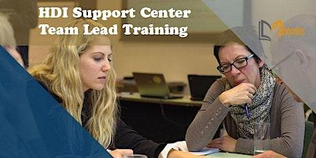 HDI Support Center Team Lead 2 Days Training in San Luis Potosi boletos